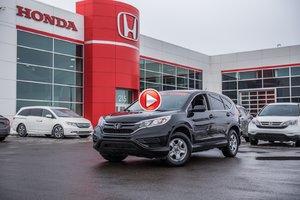 2016 Honda CR-V LX 2W GARANTIE 10 ANS/200,000 KILOMETRES* P4672 NOIR
