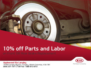 Get 10% off Parts and Labor!