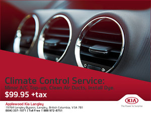 Save On Climate Control Service!