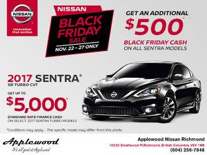 Black Friday Sale - Sentra Turbo