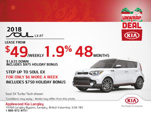 Save on the 2018 Kia Soul