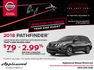 Get the 2018 Pathfinder Today