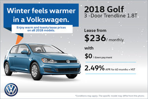 Save on the 2018 Golf 3-Door