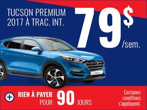 Tucson Premium à traction intégrale 2017
