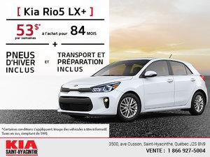 La Kia Rio5 LX+ 2018