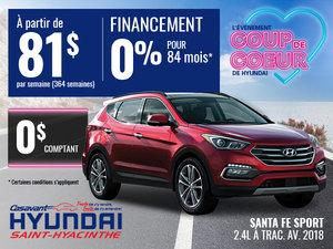 Santa Fe Sport 2018 2.4L à trac. avant