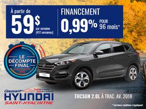 Tucson 2018 2.0L à traction avant