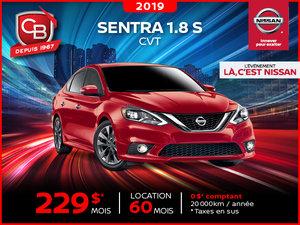 Sentra 1.8 S 2019 CVT