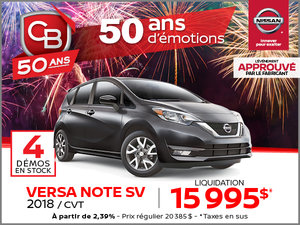 Versa Note SV 2018 CVT