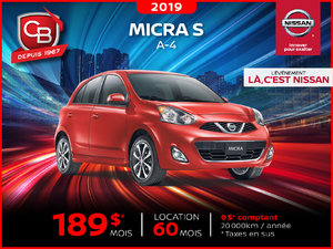 Micra S A-4 2019