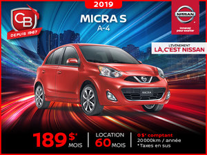 Micra S A-4 2019