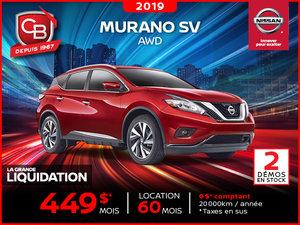 MURANO SV 2019 AWD