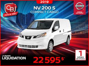 NV 200 S 2019 COMPACT CARGO