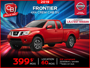 FRONTIER  4X4 CREW CAB SV 2019