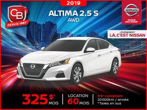 Altima 2.5 S 2019 AWD