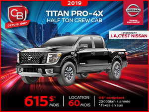 TITAN PRO-4X 2019 PRO