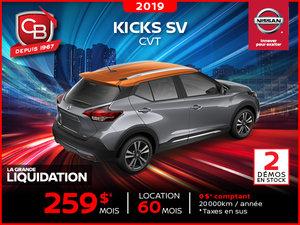 KICKS SV 2019 CVT