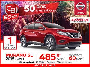 MURANO SL 2019 AWD