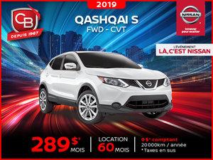 QASHQAI S 2019 FWD - CVT