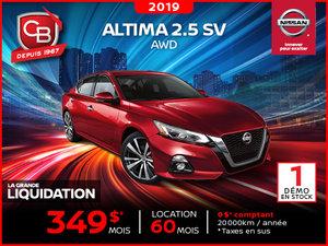 Altima 2.5 SV 2109 AWD