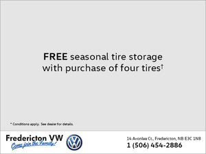 Free Seasonal Tire Storage