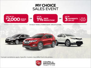 My Choice Sales Event