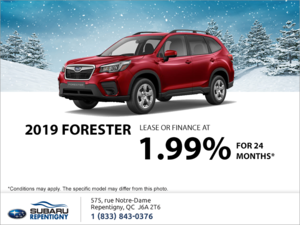 Get the 2019 Forester!