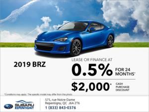 Get the 2019 BRZ today!