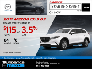 Save on the 2017 Mazda CX-9 Today!