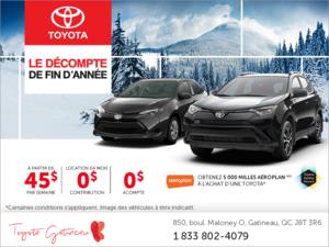 L'événement mensuelle de Toyota!