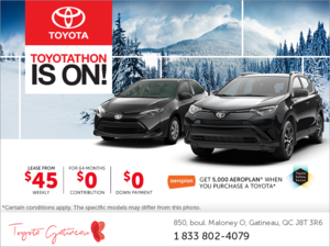 Toyota's Monthly Event!