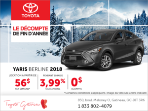 Toyota Yaris Berline 2018