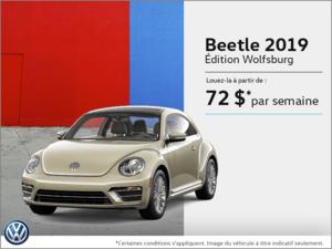 Louez la Beetle 2019!
