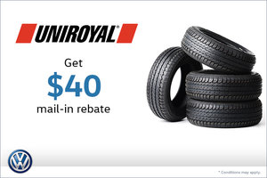 Special on Uniroyal Tires