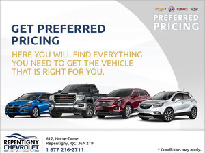 Get GM Preferred Pricing!