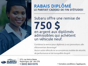 Rabais diplômé