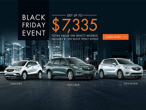 Promotion Buick, November 2018
