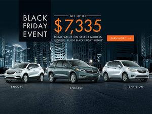 Promotion Buick, November 2018