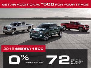 Promotion Sierra 1500, November 2018