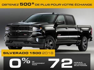 Promotion Silverado 1500, Novembre 2018