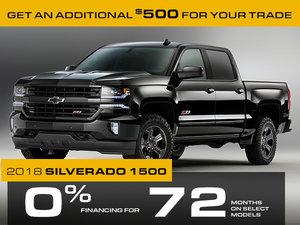 Promotion 1500 Silverado, November 2018