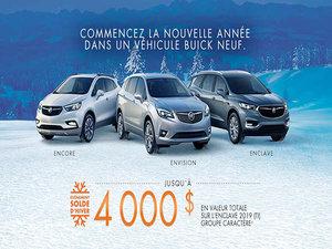 Promotion Buick - Janvier 2019