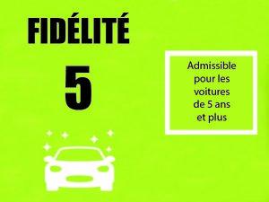 Fidélité 5