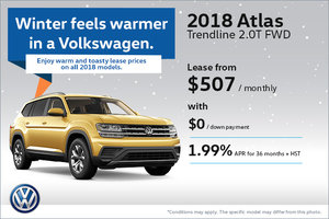 Save on the 2018 Atlas