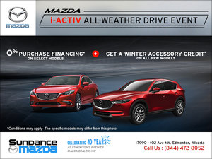 Mazda's i-ACTIV All-Wheather Drive Event