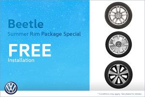 Beetle Summer Rim Package Special