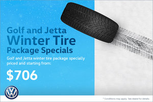 Golf and Jetta Winter Tire Package Special