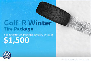 Golf R Winter Tire Package Special