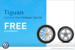 Tiguan Summer Rim Package Special