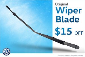 Wiper Blades for $15